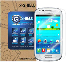 Genuine G-Shield Tempered Glass Film Screen Protector For Samsung Galaxy S3 Mini