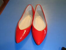 Riverberry Red Patent Shoes, faux leather size 10 M