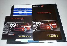 2012 DODGE DURANGO USER GUIDE OWNERS MANUAL GUIDE dvd +case 12