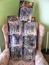 1998 lot 7 The X Files Action Figures Series One Agent Sculy Mulder Alien MOC
