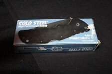 Cold Steel Mini Recon 1 Tanto Point Plain 3in Folding Knife 27TMCT