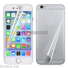 Front+Back HD Ultra Clear Screen Protector Cover Guard Film For iPhone 6s Plus