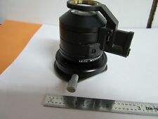 MICROSCOPE CONDENSER PART LEITZ WETZLAR GERMANY OPTICS BIN#A3-F-6