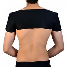 Brace Double Shoulder Support Wrap Pain Relief Tourmaline Self Heating Magnetic