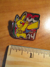 PIKACHU Metal PIN/BADGE Pokemon WC-2014 DC World Championships Official 14 TCG