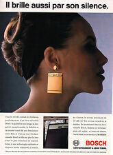 Publicité 1996  Lave vaisselle BOSCH