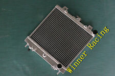 40mm aluminum alloy radiator fit  Nissan Pao AT 1989-1991 1990