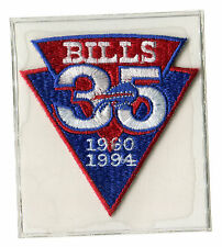 1994 BUFFALO BILLS NFL FOOTBALL OFFICIAL 35TH YEAR JERSEY PATCH WILLABEE WARD
