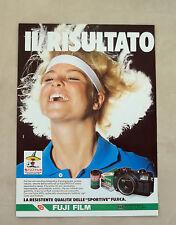 E891- Advertising Pubblicità -1986- FUJI FILM PELLICOLE UFFICIALI MESSICO 1986