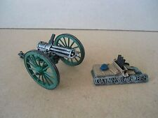 White Metal Kit Built 54mm / 1:32 Scale 1865 GATLING GUN