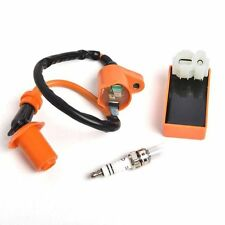 Racing CDI+ Ignition Coil + Spark Plug For Gy6 50cc 125cc 150cc 4-stroke Scooter