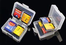2 x 8in1 SD Memory Card Cases - SDHC Protector Storage Holder 8GB 16GB 32GB