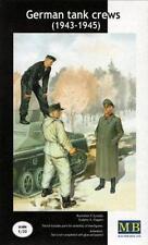 Alemán Tank Crew en invierno uniformes (1943-45) / 3 Fig. / 1/35 Masterbox