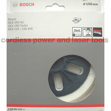 Bosch HARD Sanding Backing Pad Rubber Plate for GEX 150 AC 2 608 601 116