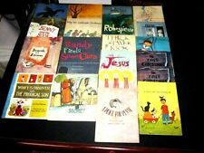 20 UNITED CHURCH PRESS Religious Children's Books 1960's Assorted Collection