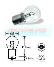 LUCAS LLB345 28V VOLT 26W SCC BA15S SINGLE CONTACT LIGHT BULB BAYONET FITTING