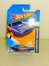 HOT WHEELS- '70 DODGE HEMI CHALLENGER- HW RACING '12- NEW ON CARD- L37