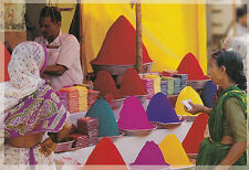 (96857) Postcard India Tika Powders - unposted