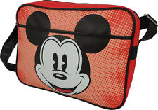 Mickey Mouse Retro Design Vinyl Shoulder Bag / Satchel - New & Official Disney