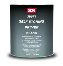 Self Etch Black primer Sem 39671 auto body shop restoration car paint supplies