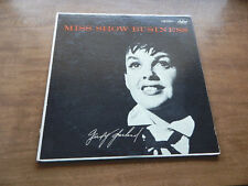 Lp-JUDY GARLAND-Miss Show Business-1955-Capitol rainbow label