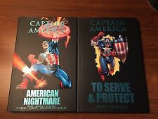 MARVEL PREMIERE CLASSIC CAPTAIN AMERICA 2 HC SIGNED BY MARK WAID