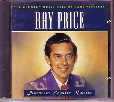 TIME LIFE Legendary Country Singers RAY PRICE Oop 1996 CD 50s & 60s Hits