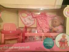 ELC Cupcake Doll Early Learning Centre  Baby Doll and Nurture Set  RRP £40
