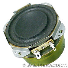 Pair 2 Technics Panasonic 2 1/2 8Ohm Woofer Subwoofer sheild