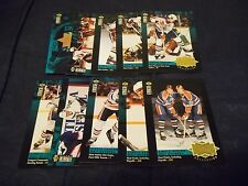 1995-96 Upper Deck Collectors Choice Gretzky Collection Set #1-9 + Header