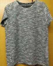 Miss Selfridge Ladies short sleeve knitted top, size 14, New RRP £25