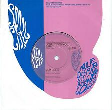 Sam Dees:Lonely for you baby/I need you girl:Northern Soul Re-issue