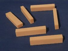 6 NEW BLANK BONE GUITAR NUTS FOR ACOUSTIC OR ELECTRIC GUITARS 1 and 11/16th inch
