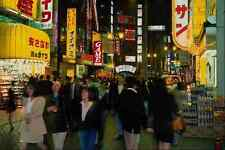 633075 People On The Streets Of Shibuya At Night Tokyo Japan A4 Photo Print