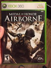 Medal of Honor: Airborne (Microsoft Xbox 360, 2007)