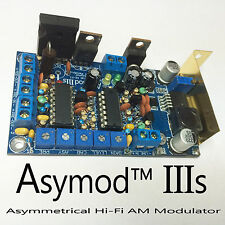 ASYMOD IIIs ASYMMETRICAL Hi-Fi AM MODULATOR FOR CB & HAM RADIO (NEW RELEASE)