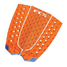 FCS T-3 Traction Pad Burnt Orange/Blue Glass