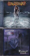LOT OF 3 LIVESAY CDs-FROZEN HELL+ AWAKEN + DARKEST HOUR POWER METAL LINE OF FIRE