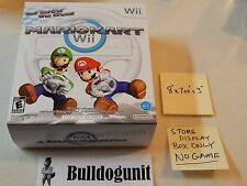 Mario Kart Nintendo Wii Store Display Box Only 8 x 7.25 x 3 NO GAME