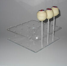 Cake Pop Stand - Square Shaped - Holds 25 Cake Pops – BPS0082