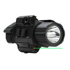 VISM by NcSTAR GEN3 Pistol Flashlight w/Strobe & Green Laser w/Lifetime Warranty