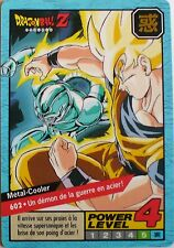 CARTE DRAGON BALL LE GRAND COMBAT N-¦602 METAL-COOLER POWER LEVEL 4