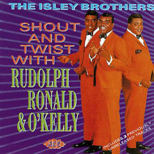 "THE ISLEY BROTHERS  ""SHOUT AND TWIST WITH RUDOLPH, RONALD & O'KELLY"""