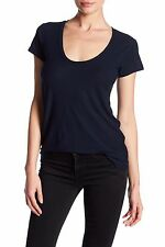NWT JAMES PERSE Sz3(M/L) HIGH GAUGE DEEP V CAP SLEEVE JERSEY TEE DEEP $95