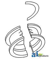 John Deere Parts BEARING THRUST STD AR101267  772A (6.531T 6CYL ENG), 770A (6.53