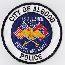 City of Algood Police Patch Tennessee TN NEW!!