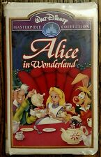 Alice In Wonderland VHS Walt Disney