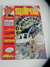SPIROU LE JOURNAL DE SPIROU 2016 couv DEVOS supp GINGER / JIDEHEM 1976