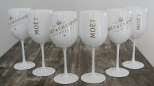 MOET CHANDON ICE IMPERIAL CHAMPAGNE  FLUTES X 6 UNBOXED  GENUINE 2016 STYLE