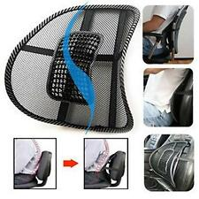 Relax Car Seat Office Chair Back Lumbar Waist Massage Mesh Cushion Support Pad